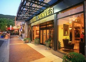 The Hotel Denver in Glenwood Springs, Colorado