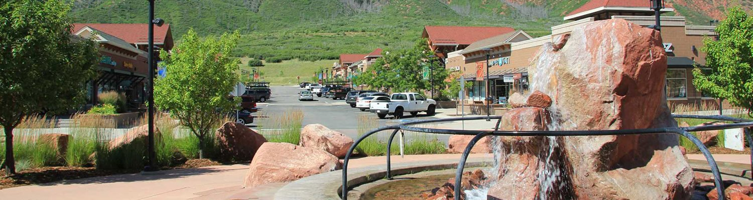 Shopping at the Meadows in Glenwood Springs