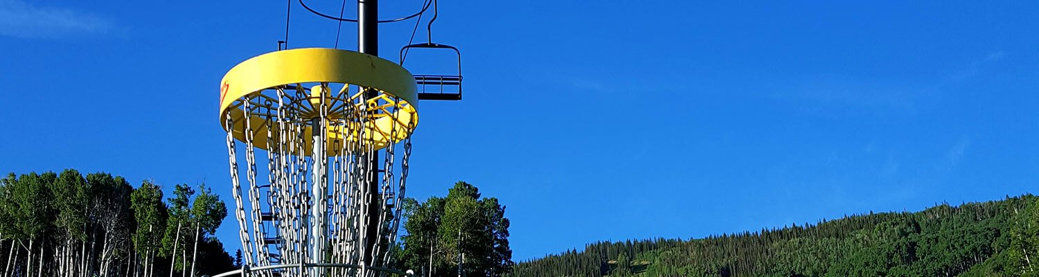 Disc Golf at Sunlight Mountain Resort