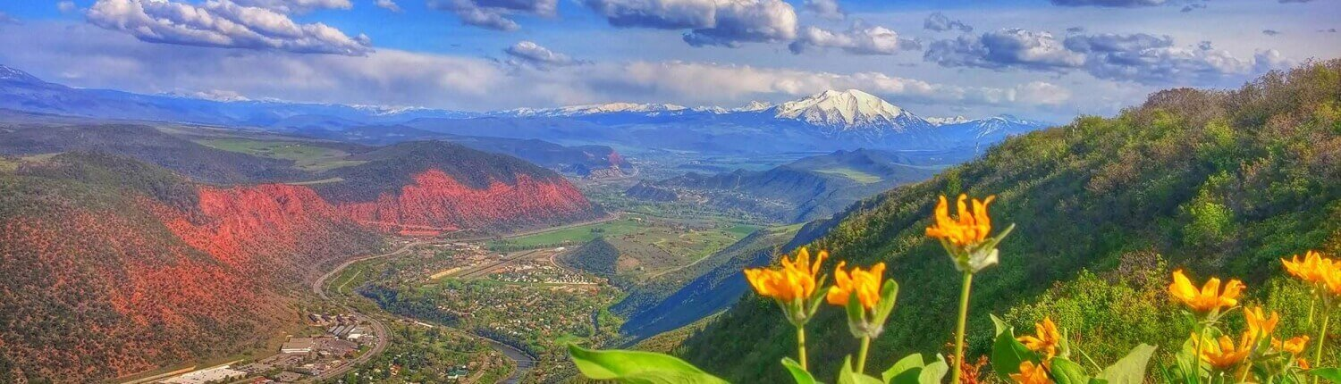 Spring in Glenwood Springs