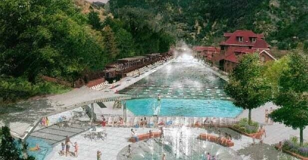 new water feature glenwood hot springs