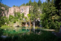 Hanging Lake in summer