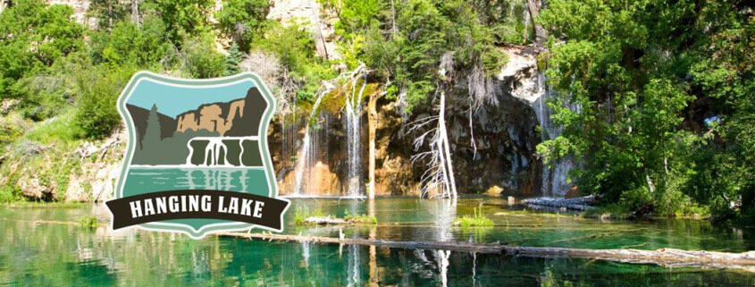 Hanging Lake permit shuttle system banner