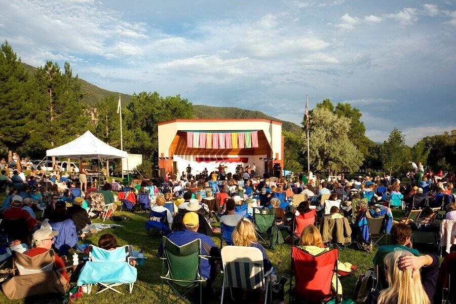 Glenwood Springs Colorado Summer of Jazz Concert Event