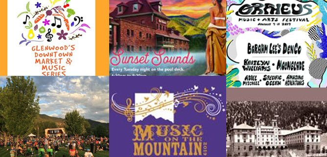 Glenwood Springs Events Ahead July-September 2019