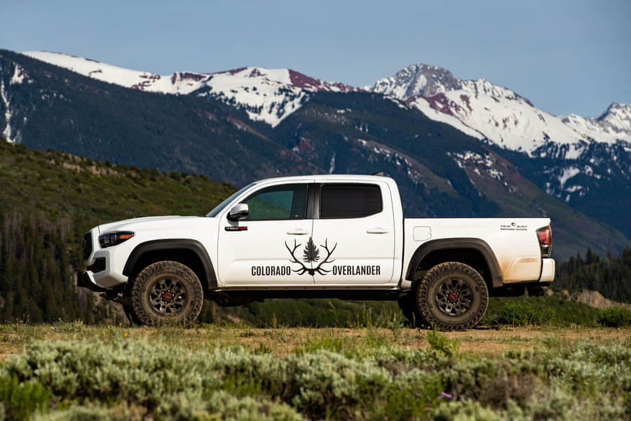 Colorado Overlander vehicle near Glenwood Springs