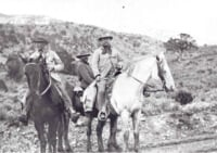 Teddy Roosevelt hunting party near Glenwood Springs