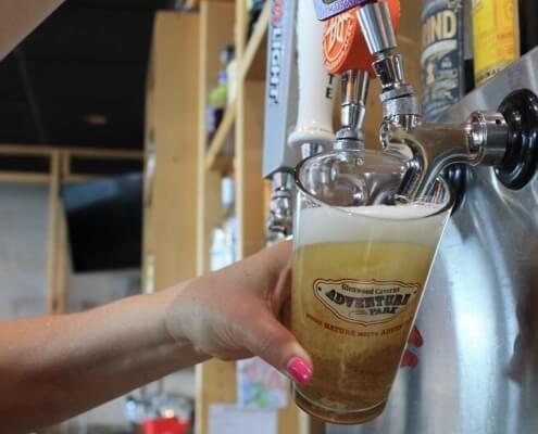 beer on draft