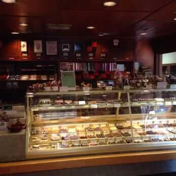 counter of chocholate mouse parlor