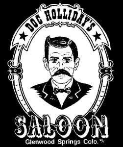 logo featuring doc holliday