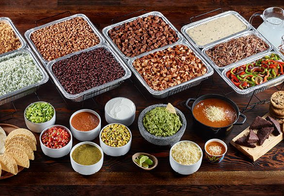 qdoba food and sauces