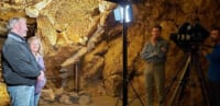 filming in fairy caves