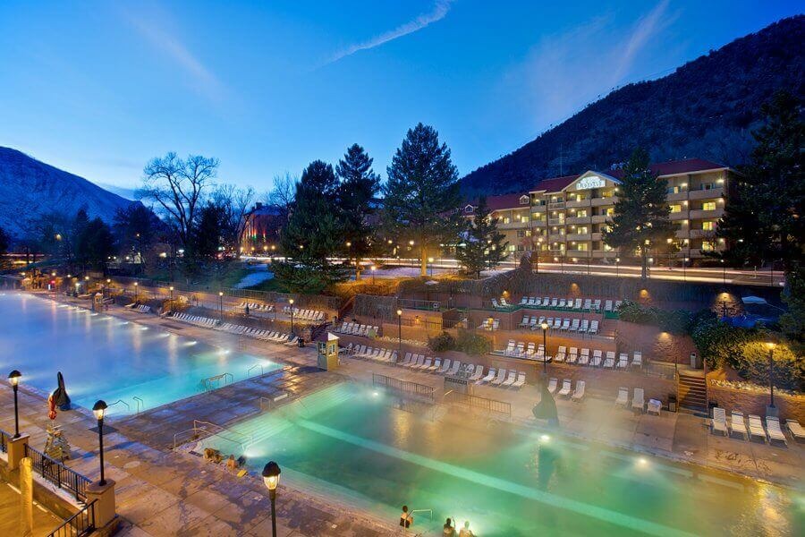 hot springs lodge and pool